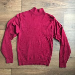 Pendleton Petite 100% Wool Red Sweater Size Small